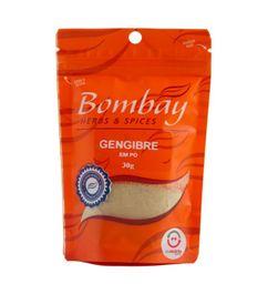 Gengibre Pó Bombay Pouch 30 g