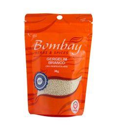 Gergelim Branco Despeliculado Bombay Pouch 30 g