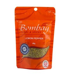 Lemon Pepper Bombay Pouch 40 g