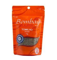 Tomilho Folha Bombay Pouch 15 g