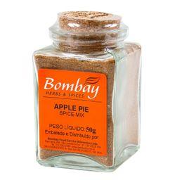 Apple Pie Bombay Vidro 50 g