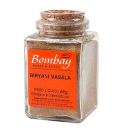 Biryani Masala Bombay Vidro 60 g