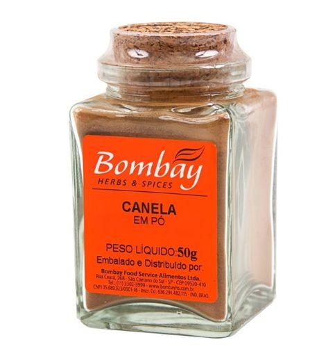 Canela Pó Bombay Vidro 50 g