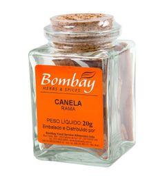 Canela Rama Bombay Vidro 20 g