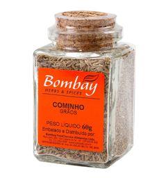 Cominho Grão Bombay Vidro 60 g