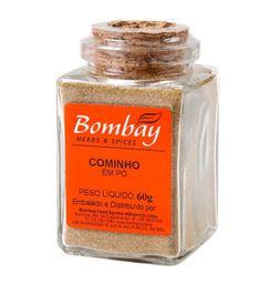 Cominho Pó Bombay Vidro 60 g