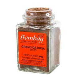 Cravo Da India Pó Bombay Vidro 60 g