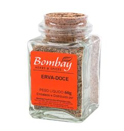 Erva Doce Bombay Vidro 60 g
