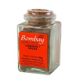 Lebanese 7 Spices Bombay Vidro 60 g