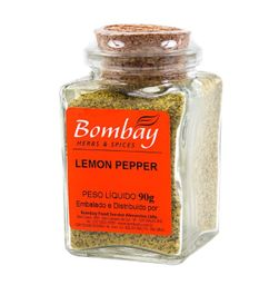 Lemon Pepper Bombay Vidro 90 g