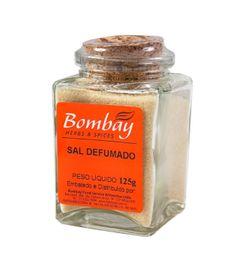Sal Defumado Bombay Vidro 125 g