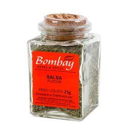 Salsa Flocos Bombay Vidro 25 g