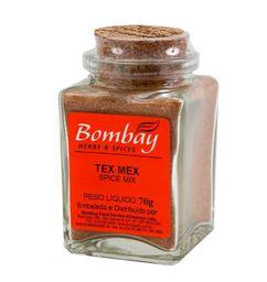Tex-Mex Spice Mix Bombay Vidro 70 g