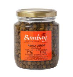 Pimenta Do Reino Verde Salmoura Bombay 110 g