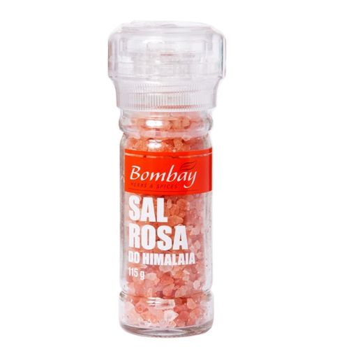 Moedor Sal Rosa Grosso Bombay 115 g