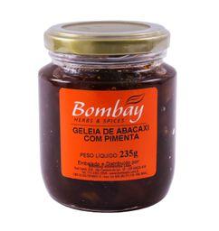 Geleia Abacaxi Com Pimenta Bombay Vidro 235 g
