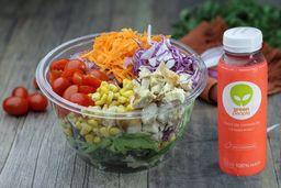 Monte Sua Salada Grande + Bebida