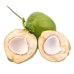 Coco Verde Cortado Cada