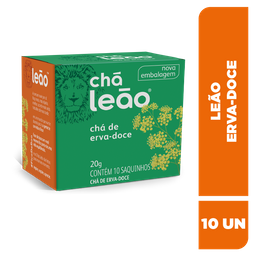 Chá Leão Erva-Doce 10 Sachês