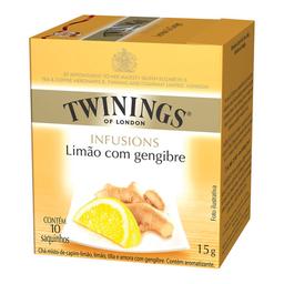 Chá Twinings Limão Com Gengibre 15 g