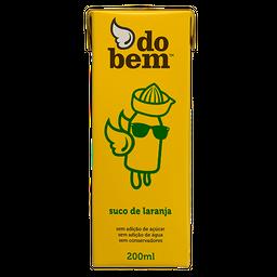 Suco Do Bem Laranja Integral 200ml