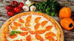 Pizza De Mussarela - Fatia