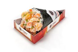 Temaki Salmon Shrimp