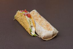 Combo Burrito e Taco