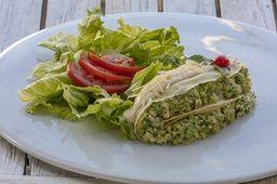 Panqueca Veggie de Brócolis