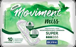 Absorvente Geriátrico Bigfral Moviment Miss Super 10 Und