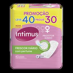 Absorvente Intimus Days Protetor Diário Perf S/ Abas 40 Und