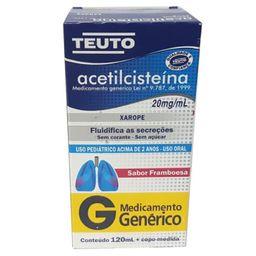 Acetilcisteina Teuto Inf 120 mL