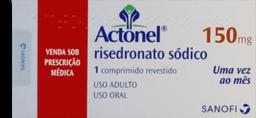 Actonel 150 mg 1 Comprimido