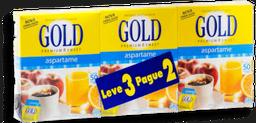 Adoçante Aspartame Gold 50U