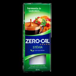 Adoçante Líquido De Stévia E Sucralose Zero Cal 80 mL