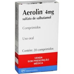 Aerolin Gsk 4 mg 20 Cápsulas