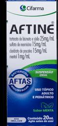 Aftine Suspensão Tópica 20 mL