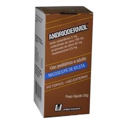 Andriodermol União Química Em Pó 50 g