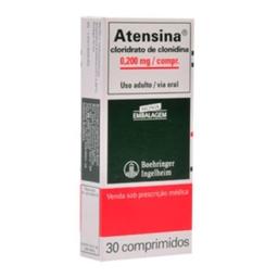 Atensina 0,100 mg Boehringer 30 Comprimidos