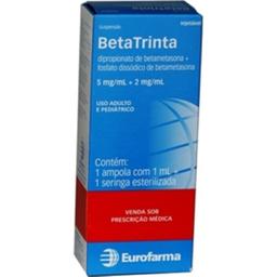 Betatrinta 5/2 mg Suspensao Injetavel 1Ampola De + Seringa 1 mL
