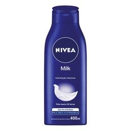 Hidratante Corporal Nivea Milk Pele Seca E Extrasseca 400 mL