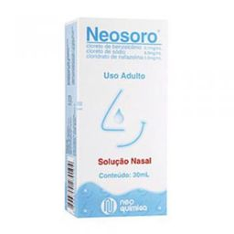Neosoro Solução Nasal Adulto 30 Ml