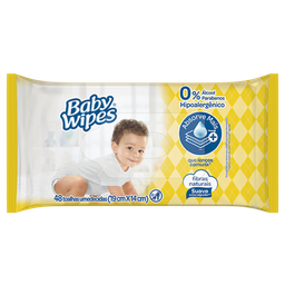 Toalha Umedecida Huggies Baby Wipes 48 Und