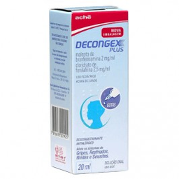 Decongex Plus Aché Gotas 20Ml