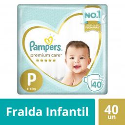 Pampers Fraldas Premium Care P Com 40 Unidades
