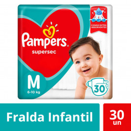 Pampers Fralda Supersec Pacotao M