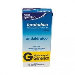 Loratadina 10 Mg Neo Química