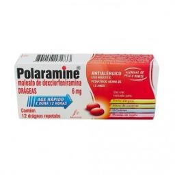 Polaramine Repetabs Com 12 Drageas