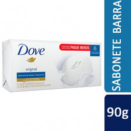 Dove Sabonete Original 6 U