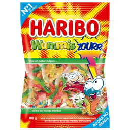 Bala De Gelatina Haribo Zourr 100 g